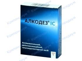 АЛКОДЕЗ IC табл. 0,5г №4