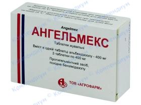 АНГЕЛЬМЕКС табл. жув. 400 мг №3*