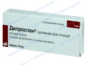 ДИПРОСПАН сусп. д/ін. 1мл шприц №1*