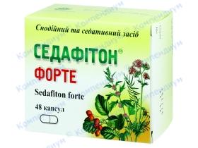 СЕДАФІТОН ФОРТЕ капс. №48