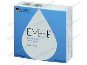АЙ-ТІ ЕКТОЇН краплі оч. 0,5% амп. 0,5мл №10