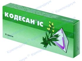 КОДЕСАН IC табл. №10