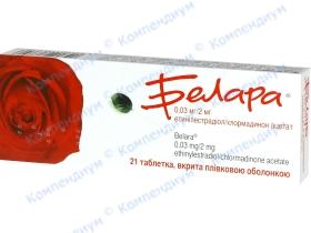 БЕЛАРА табл. в/о №21
