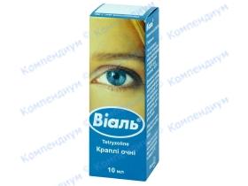 ВІАЛЬ краплі оч. 0,05% фл. 10мл