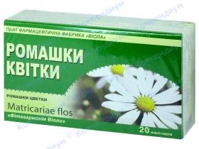 РОМАШКИ квітки 1,5г ф/п №20