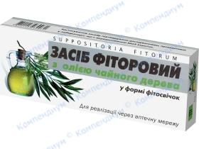 ФІТОСВІЧКИ ФІТОРОВІ із олією чайного дерева №10