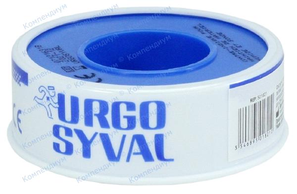 Лейкопластырь Ургоsyval 5 м * 1,25 см