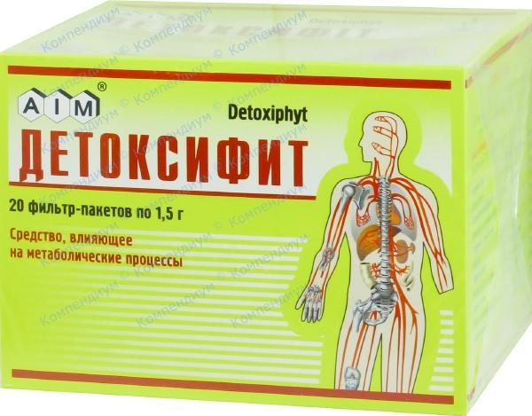 Детоксифит фильтр-пакет 1,5 г №20