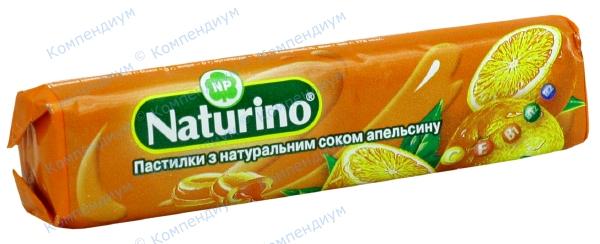 Натурино пастилки 33,5 г, апельсин