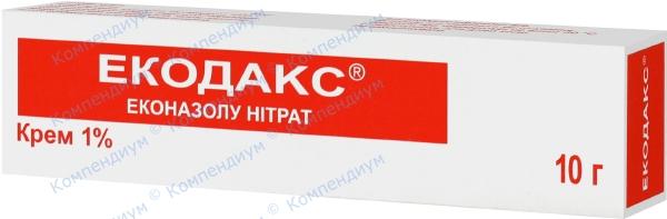 Экодакс крем 1% туба 10 г №1