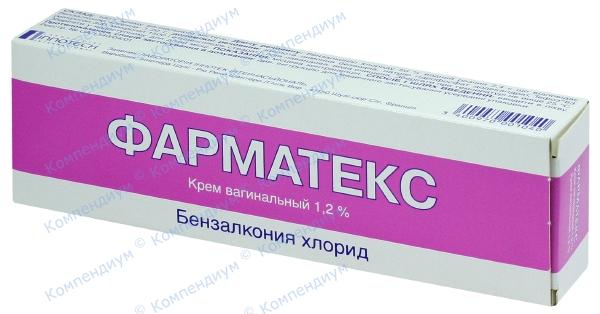 Фарматекс крем вагин. туба 72 г