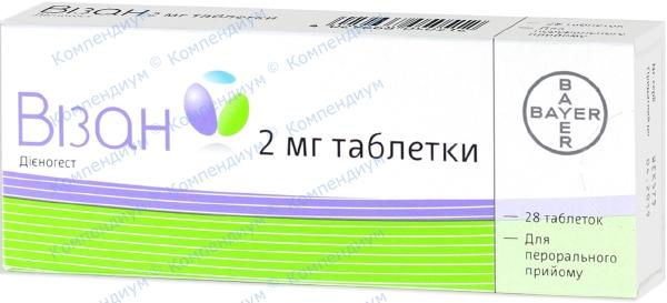 Визан табл. 2 мг №28