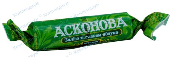 Асконова железо табл., яблоко №10