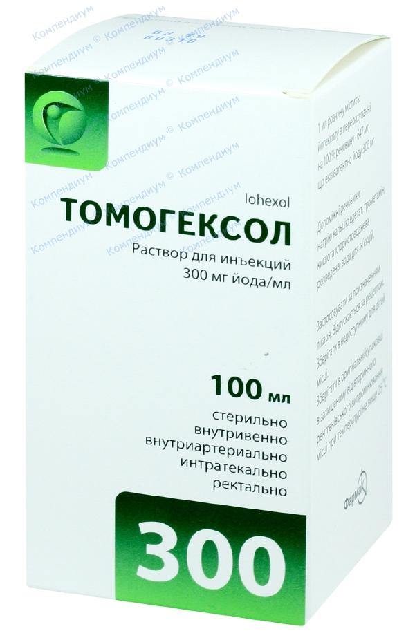 Томогексол р-р д/ин. 300 мг/мл фл. 100 мл №1