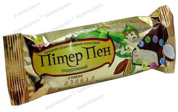 Питер Пен диабет. добавка с какао в глазури 40 г