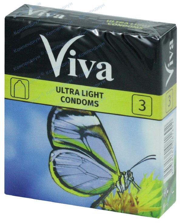 Презервативы Вива ультратонкие №3