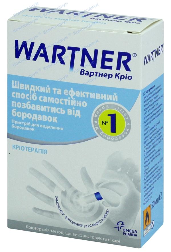 Вартнер крио устройство для удаления бородавок 50 мл