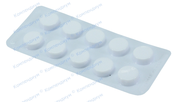 Кальция глюконат табл. 500 мг №10