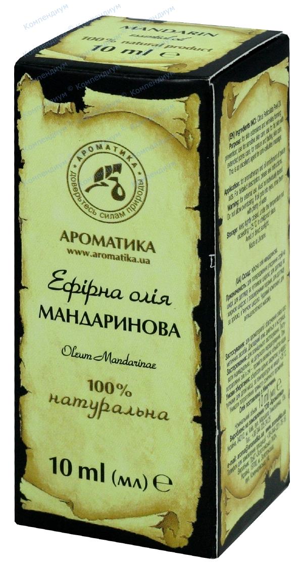 Масло эфирное мандарина 10 мл
