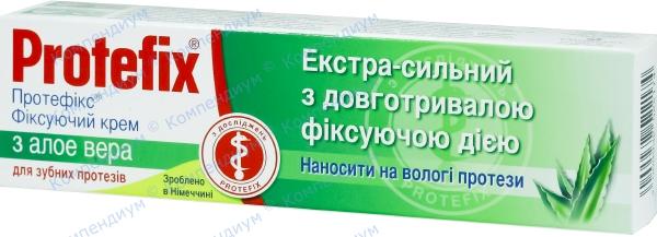Протефикс фиксирующий крем с алоэ вера 40 мл