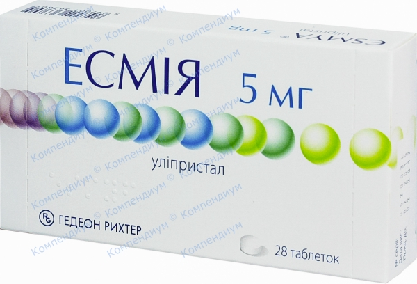 Эсмия табл. 5 мг №28