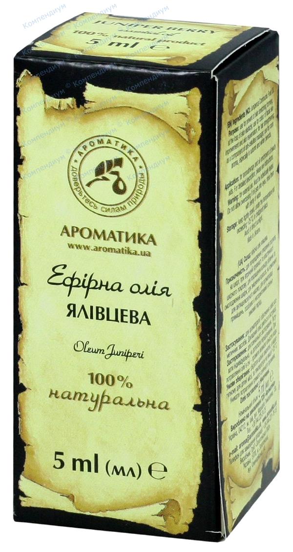 Масло эфирное можжевельника 5 мл