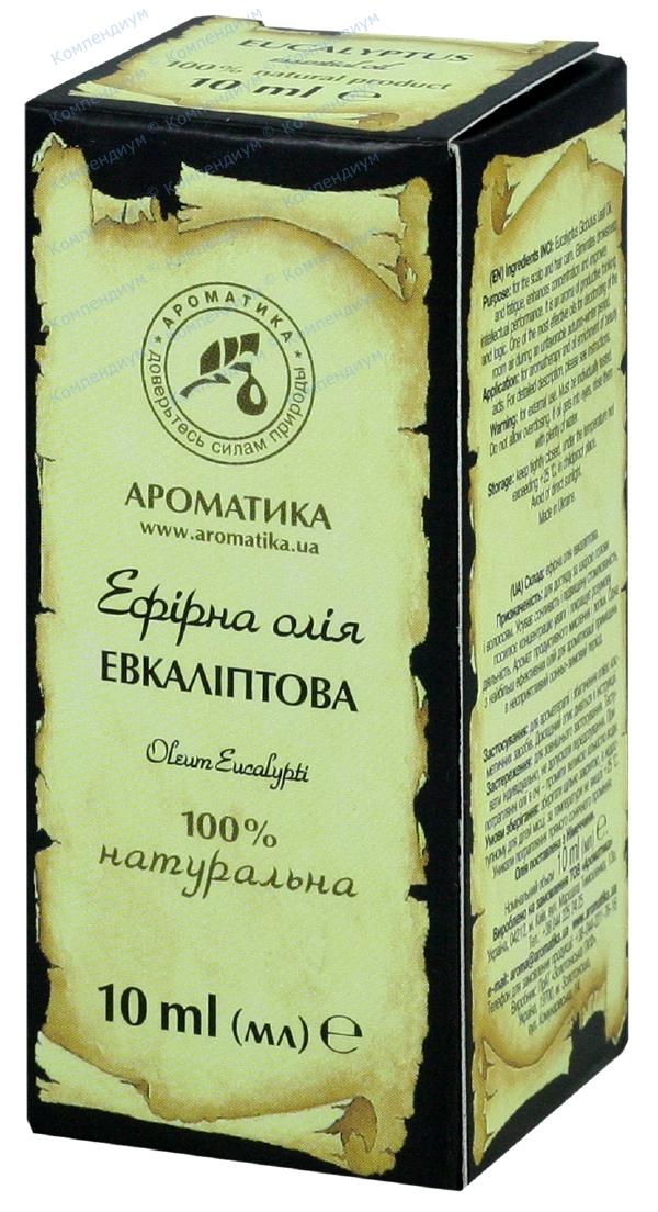 Масло эфирное эвкалиптовое 10 мл