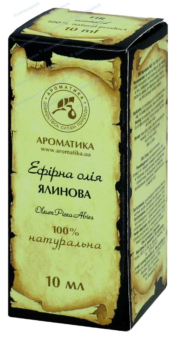 Масло эфирное еловое 10 мл