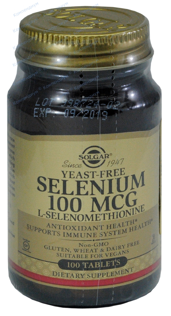 Селен табл. 457 мг фл. №100