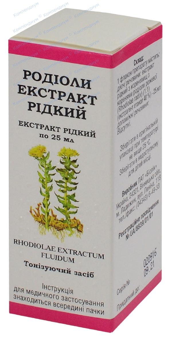 Родиолы экстракт экстракт 25 мл фл.