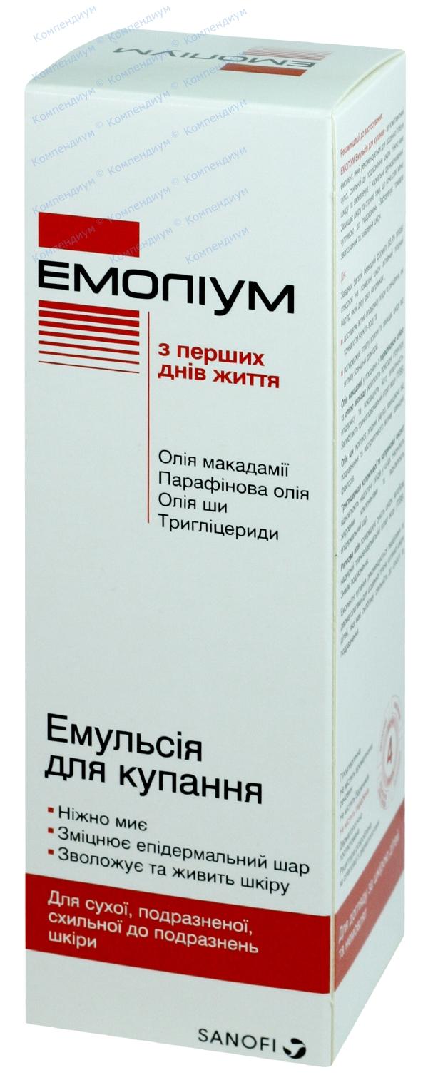 Эмолиум эмульсия для купания 200 мл