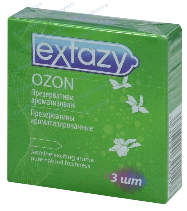 Презервативы Экстази ozon, ароматиз. №3