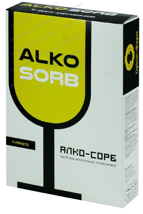 Алко-сорб 7,5 мг №4