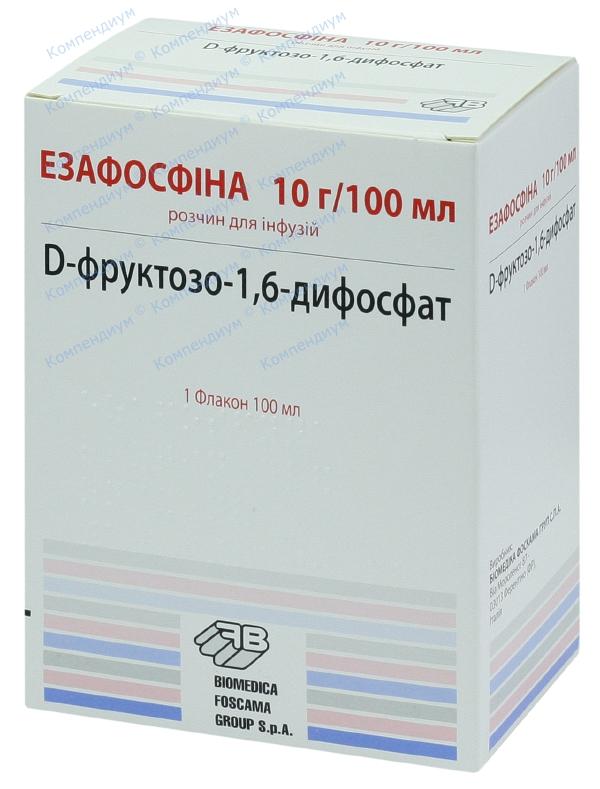 Эзафосфина р-р д/инф. 10 г/100 мл фл. 100 мл №1