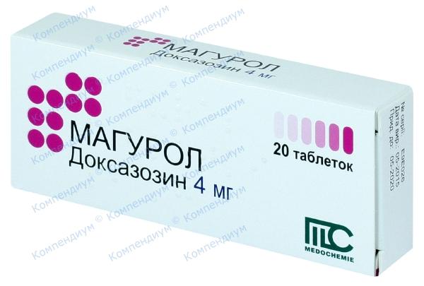 Магурол табл. 4 мг №20