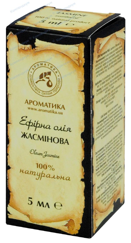 Масло эфирное жасмина 5 мл