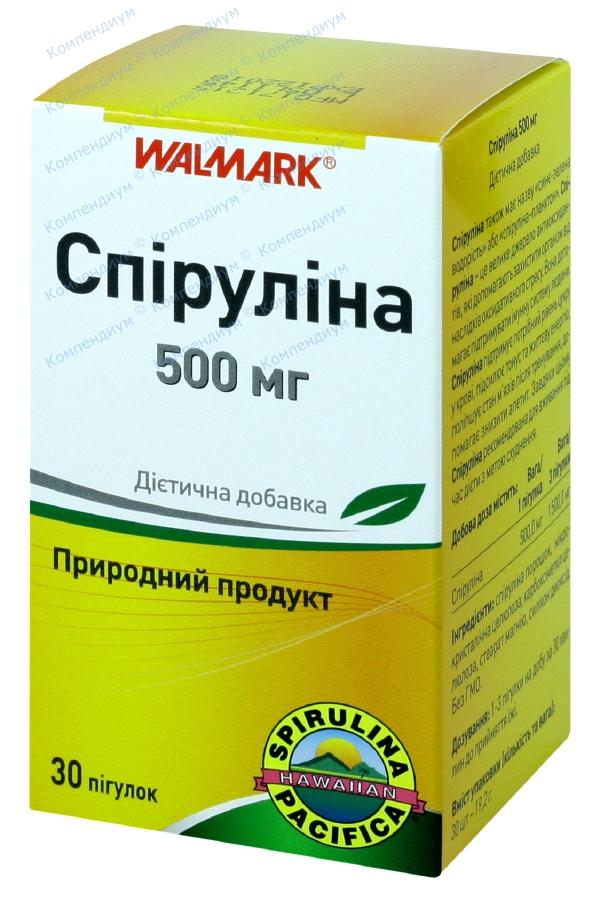 Спирулина табл. 500 мг №30