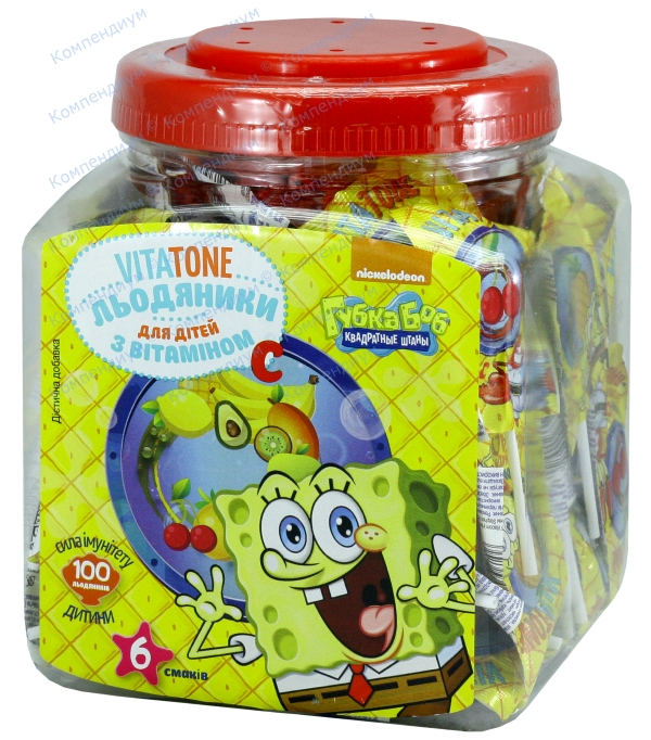 Витатон витамин C леденцы 6 г банка п/п №100