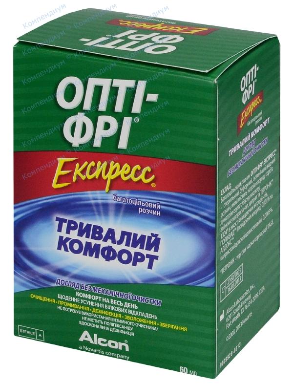 Многоцелевой р-р Опти-фри экспресс 60 мл, с конт.