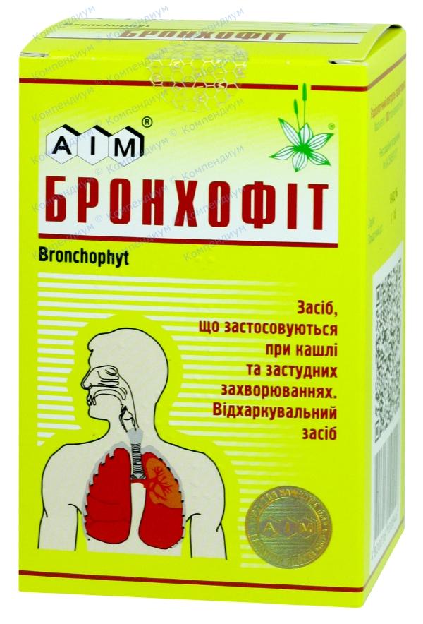 Бронхофит сбор пакет 100 г