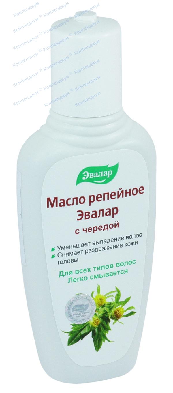 Масло репейное с экстрактом череды 100 мл