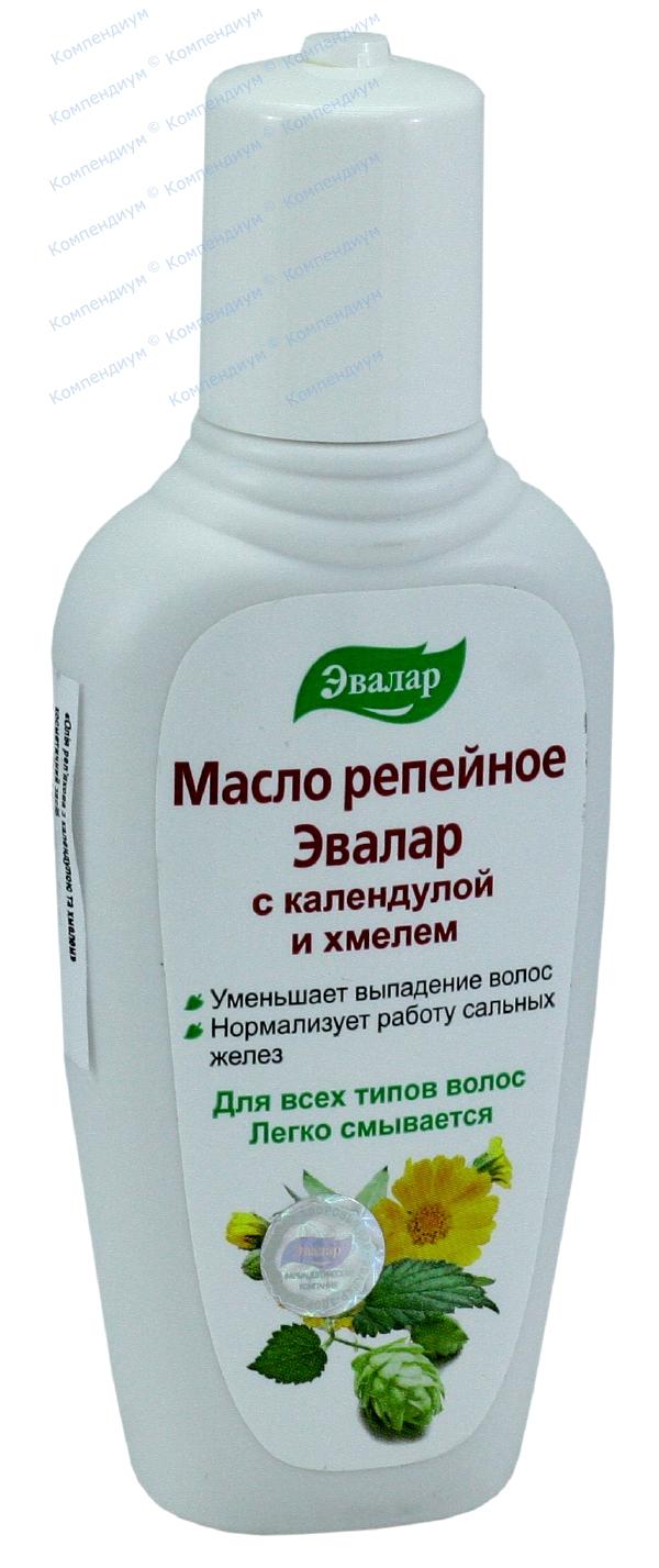 Масло репейное с экстрактом календулы и хмеля 100 мл