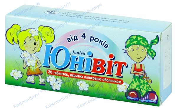 Юнивит табл. п/о №30