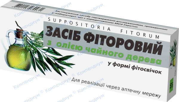 Фиторовые фитосвечи с маслом чайного дерева с маслом чайного дерева №10