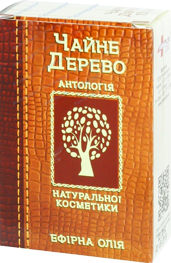 Масло эфирное чайного дерева 10 мл