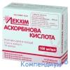 Аскорбінова кислота р-н д/ін.100мг/мл 2мл амп.№10