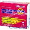 Амінокапронова кислота пор. орал.1г №10