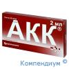 АКК р-н 5% 2мл №10