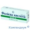 Фолієва кислота таб.1мг №30