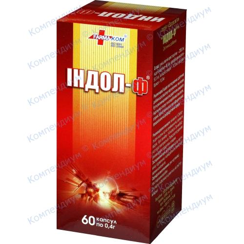 Индол-Ф БАД капс.0,4 №60